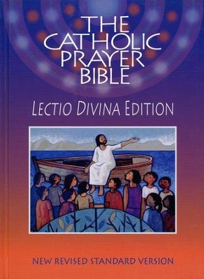 NRSV Catholic Prayer Bible, Lectio Divina Edition   -