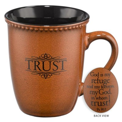 God is my Refuge Mug  -