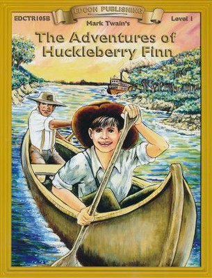 The Adventures of Huckleberry Finn   -     By: Mark Twain