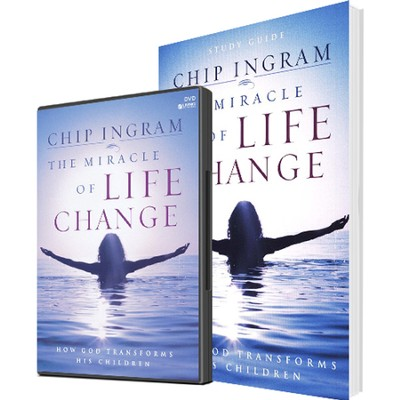 The Miracle Of Life Change Personal Study Kit (1 DVD Set & 1 Study Guide)  -     By: Chip Ingram
