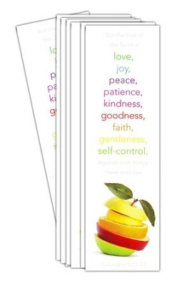 Fruit of the Spirit: Bookmark, 25  -