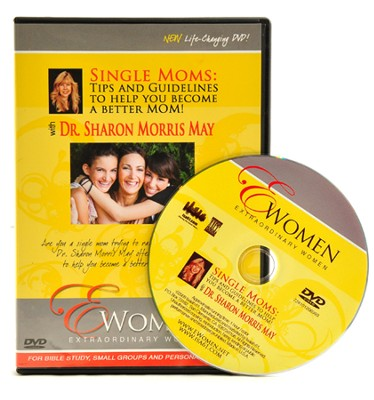 Single Moms: Tips and Guidelines, DVD Bible Study   -     By: Dr. Sharon Morris May