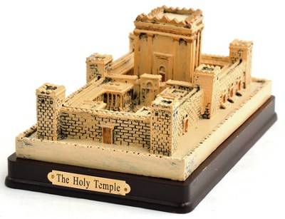 The Jerusalem Temple Statue: Hand Painted  -