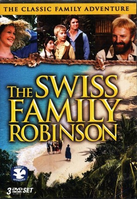 The Swiss Family Robinson 3 DVD Set  -