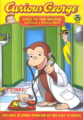 Curious George Goes to the Doctor DVD  -