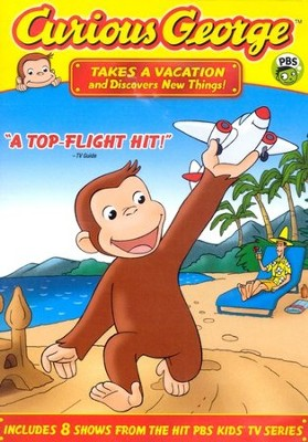 Curious George Takes a Vacation DVD  -
