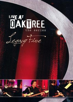 Legacy Five: Live At Oak Tree DVD  -     By: Legacy Five