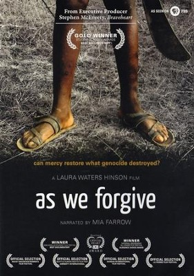 As We Forgive--DVD   -