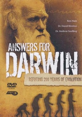 Answers for Darwin DVD with MP3  -     By: Ken Ham, Dr. David Menton, Dr. Andrew Snelling