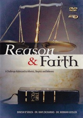 Reason & Faith, DVD with MP3   -     By: Dinesh D'Souza, Ravi Zacharias, Norman L. Geisler