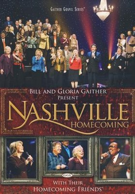 Nashville Homecoming, DVD   -     By: Bill Gaither, Gloria Gaither, Homecoming Friends