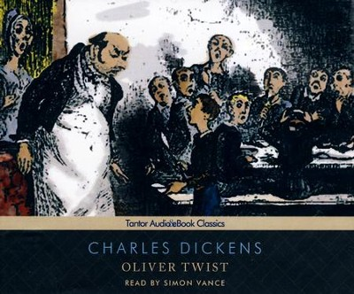 Oliver Twist, Unabridged Audiobook on CD with eBook  -     Narrated By: Simon Vance     By: Charles Dickens