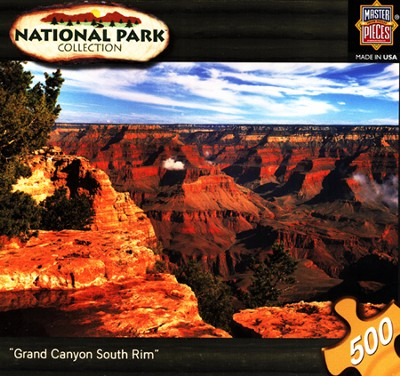 Grand Canyon South Rim 500 Piece Puzzle  -