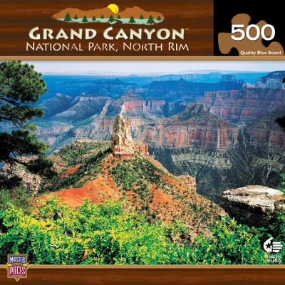 Grand Canyon North Rim 500 Piece Puzzle  -