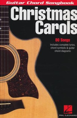 Christmas Carols: Guitar Chord Songbook   -     By: Various Authors