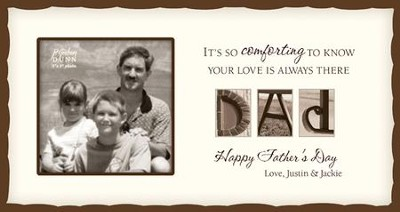 Personalized, Dad Photo, Cream   -     By: Jennifer Blakeley