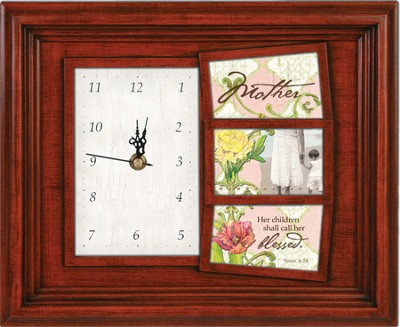 Mother Clock and Photo Frame   -