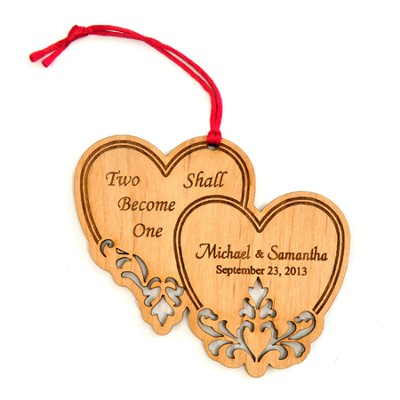 Keepsake Hearts Ornament   -