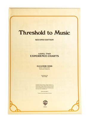 Threshold to Music, Level Two Materials (Grades 4-7)  -     By: Eleanor Kidd