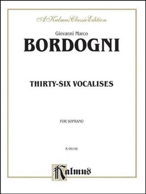 Thirty-six Vocalises in Modern Style (Spicker): Soprano  -     By: M. Bordogni