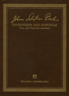2 & 3 Part Inventions  -     By: Johann Sebastian Bach, Willard A. Palmer