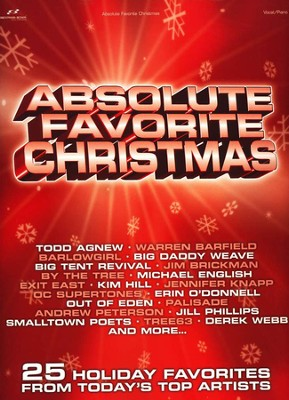 Absolute Favorite Christmas, From Top Artists, Songbook    -
