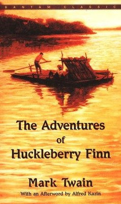 The Adventures of Huckleberry Finn   -     By: Mark Twain, Alfred Kazin