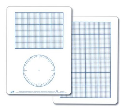Graph Demonstration Dry Erase Board  -