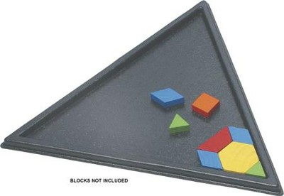 Triangle Pattern Block Tray  -