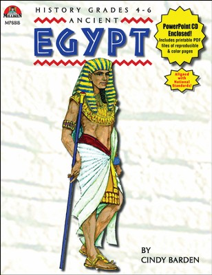 Ancient Egypt Book and PowerPoint CD  -