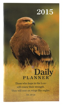 2015 Daily Pocket Planner, Wings Like Eagles  -
