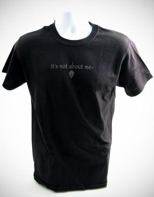 It's All About Him T-Shirt, Black, Medium (38-40)   -