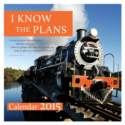 2015 Wall Calendar, I Know the Plans  -