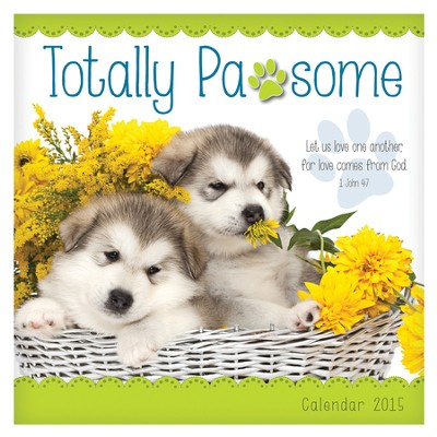 2015 Wall Calendar, Totally Pawsome  -