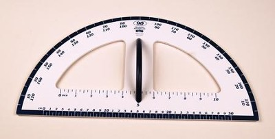 Dry Erase Magnetic Protractor  -
