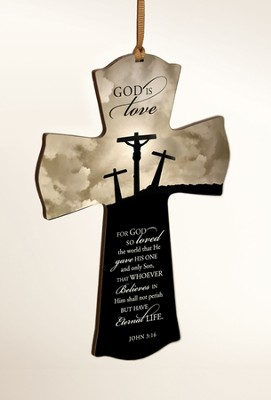 God Is Love Mini Cross  -