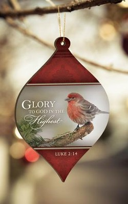 Glory to God Ornament  -