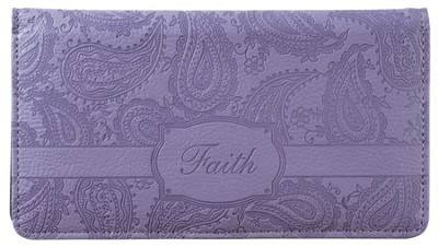 Faith Checkbook Cover  -