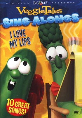 VeggieTales Sing Alongs: I Love My Lips, DVD   -