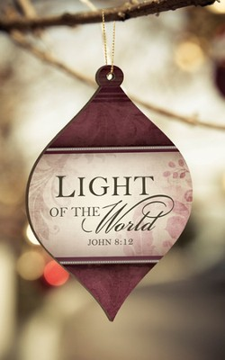 Light of the World Ornament  -