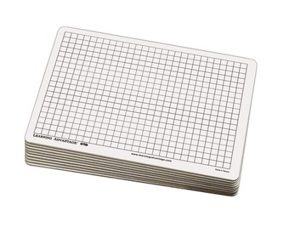Centimeter Grid Dry Erase Boards (set of 10)  -