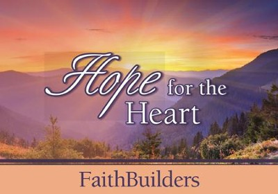 Faithbuilders Devotional Cards, Hope for the Heart  -