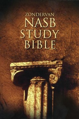 NAS Zondervan Study Bible, Hardcover  - Slightly Imperfect  -