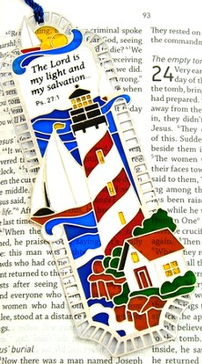 Suncatcher Bookmark and Magnet, Lighthouse Shores  -