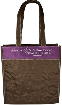 Quilted Tote, Jeremiah 29:11  -