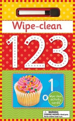 Wipe Clean 123  -     By: Bob Gordon