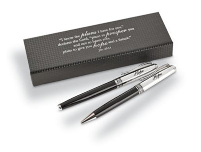 Jeremiah 29:11 Pen and Pencil Set, Boxed  -