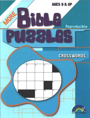 More Bible Puzzles: Crosswords (Ages 8 & Up)  -