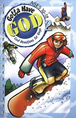 Gotta Have God 2: Cool Devotions for Guys - Ages 10-12   -     By: H. Michael Brewer