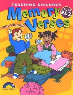 Teaching Children Memory Verses, Ages 2-3   -